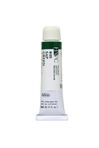 Holbein Artists' Watercolors - Sap Green - 5ml Tube
