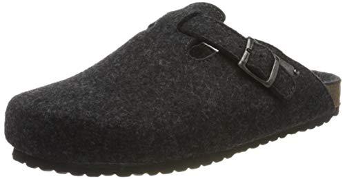 Supersoft Herren 511 064 Pantoffeln, Grau (Dk. Grey 256), 47 EU