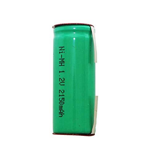 Akku passend für Braun Oral-B Triumph Professional Care v2 Version, Lötfahnen mittig 2mm breite, Abmessungen 43x17mm