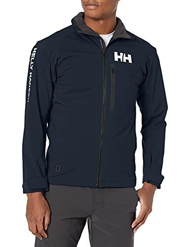 Helly Hansen HP Racing Midlayer Lifaloft Cuello Forro Polar Marina Deportes Navegación Chaqueta Impermeable, Hombre, Azul (Navy), M