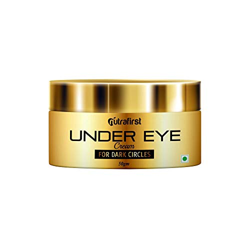Nutrafirst Under Eye Cream for Dark Circles, Wrinkles, and Puffiness suitable for Men & Women – 50gm