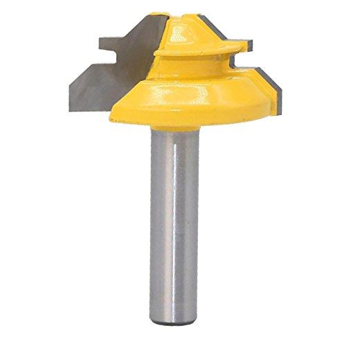 45 Grad Verleimfräser 8mm Schaft Gehrungsfräser Router Bit Holzbearbeitung Werkzeug für Graviermaschine
