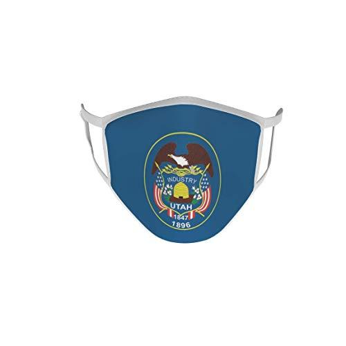 Behelfsmaske Mund-Nasen-Schutz Stoffmaske Maske Utah
