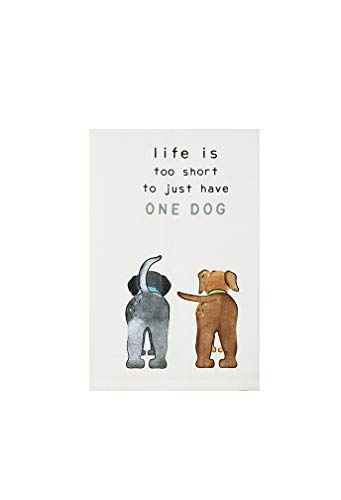 Life is Too Dog Towel