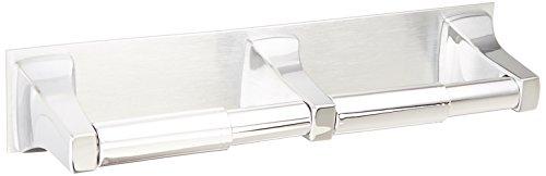 Moen R5580 Commercial Double Roll Toilet Paper Holder, Chrome