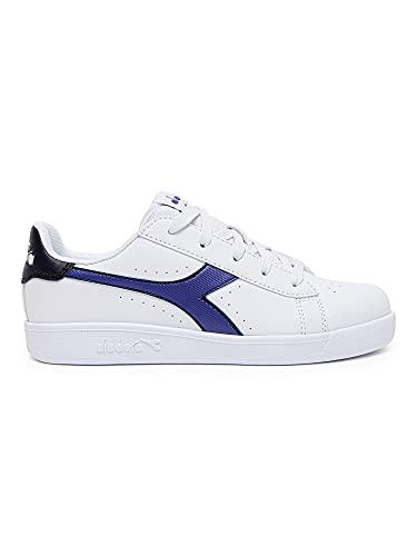 Diadora - Zapatillas Game P GS para niño y niña., C0178 White Peacoat, 36.5 EU