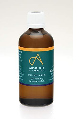 Preisvergleich Produktbild Absolute Aromas Eukalyptus Globulus ätherisches Öl 100ml - 100% rein,  natürlich,  unverdünnt und tierversuchsfrei - Zur Anwendung in Duftlampen und Aromatherapiemischungen