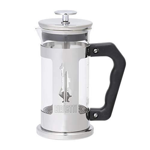Bialetti 0003160/Nw Coffee Press Omino, Caffettiera Pressofiltro 3 Tazze, Acciaio Inossidabile, Multicolore, 350 ml, 1 Unità