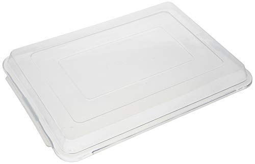 Winco Covers for Aluminum Sheet Pan, 13 by 18-Inch,Clear,Medium