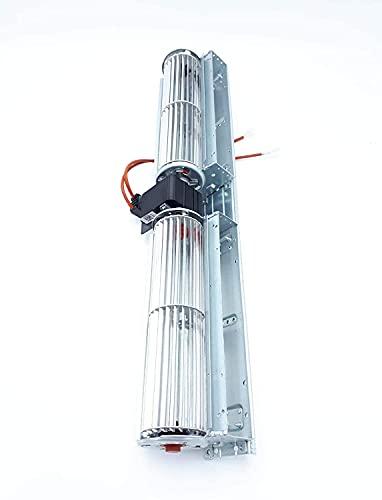 Ventilatore tangenziale originale PALAZZETTI cod.895701810, per stufe a pellet