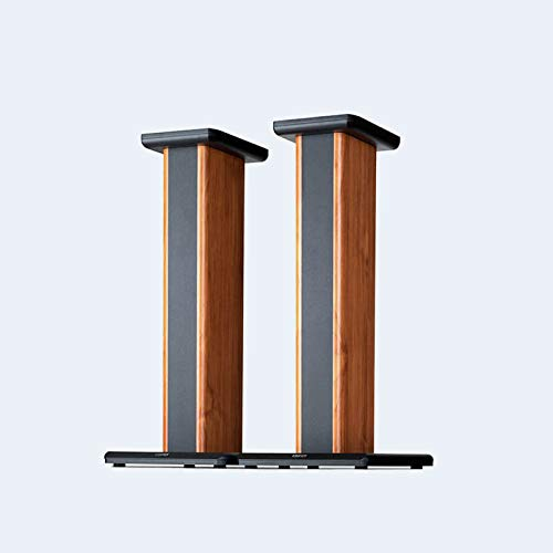 Edifier SS02 Wood Grain Speaker Stands for S1000DB / S2000PRO/ S1000MKII Hollowed Stands for Optional Sand Filling Tuning - Pair