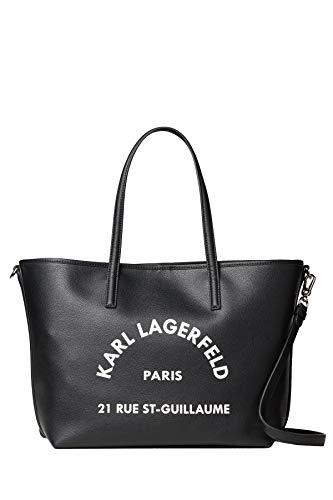 Karl Lagerfeld Damen Shopper St Guillaume Tote Schwarz