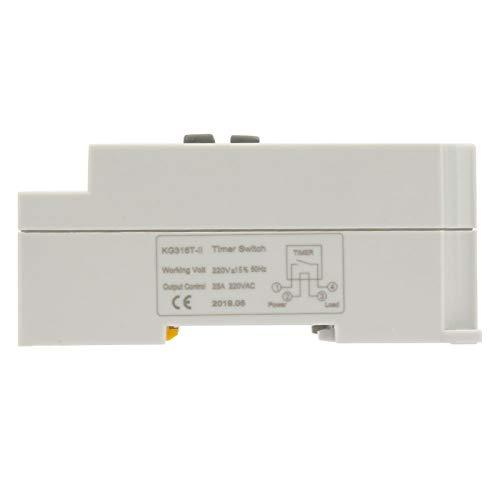 Interruptor de tiempo digital Error de 0,5 s Temporizador programable Control de tiempo programable Proyectos de electrónica de edificios para aplicaciones industriales