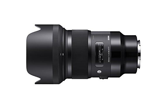 Sigma 311965 Obiettivo 50 mm-F/1.4 A -AF DG HSM, Attacco Sony E-Mount, Nero