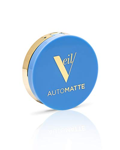 Veil Cosmetics Automatte Mattifying Balm Touch-Up   Translucent Powderless Makeup for Oily Skin   All Skin Tones & Types   Paraben-Free