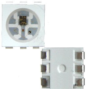 20 x LED WS2812B RGB mit integriertem WS2811 Controller