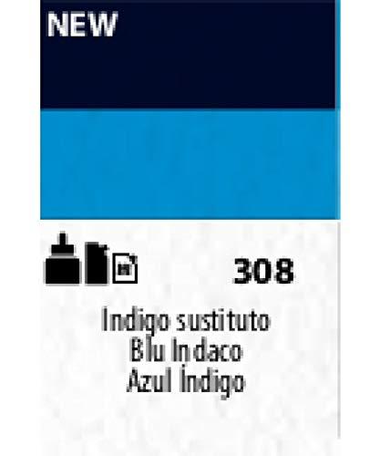 Sennelier 308 - Color acrílico Abstract 120 ml azul índigo