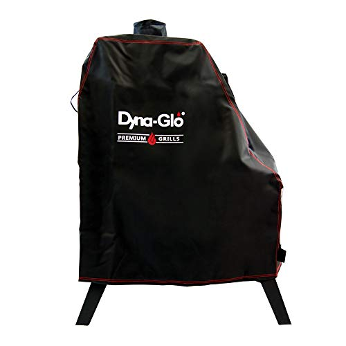 Dyna-Glo DG1176CSC Premium Vertical Offset Charcoal Smoker Grill Cover, Black (Renewed)