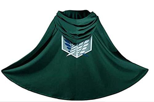 Innolage Japan Anime Shingeki No Kyojin Cloak Attack on Titan Cosplay Cloth Green