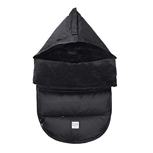 7 A.M. Enfant PlushPOD Stroller and Car Seat Footmuff, Convertible into a Single Panel Cover