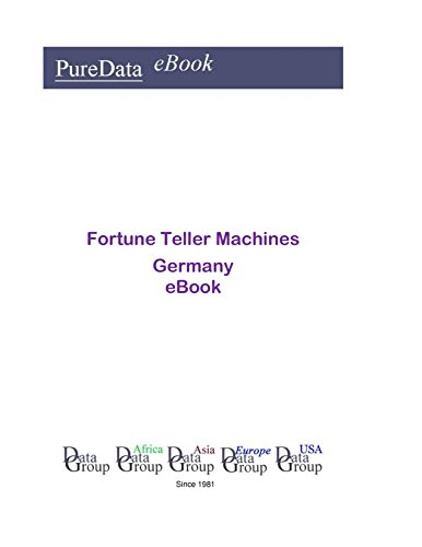 Fortune Teller Machines in Germany: Product Revenues in Germany (English Edition)