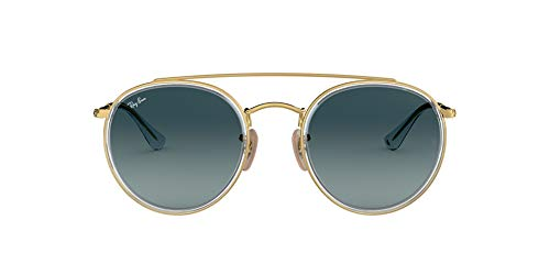 Ray-Ban RB3647N-91233M Gafas de Sol, Dorado, 0 Unisex