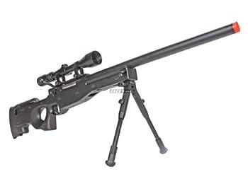 bbtac bt59 airsoft sniper rifle bolt action type 96 airsoft gun with 3x rifle scope and aluminum bipod Airsoft Gun