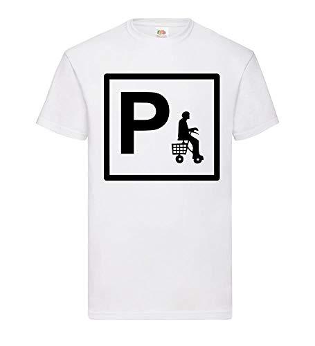 Parken met rollator 2 mannen T-shirt - shirt84.de