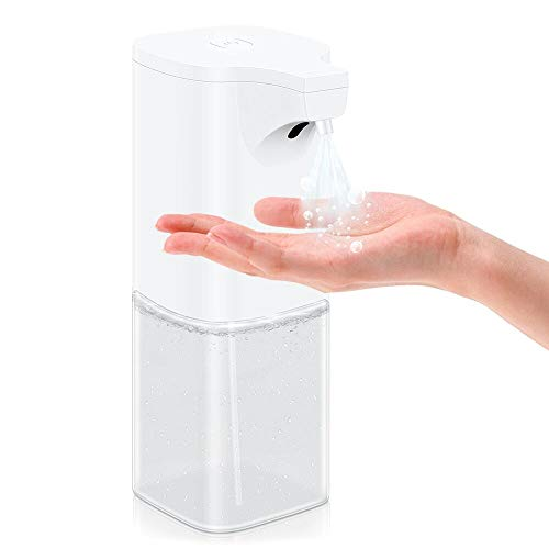 VEEAPE Dispensador Automático de desinfección pulverizador de Alcohol 350ml, Dispensador de jabón sin Contacto para cocinas, oficinas, escuelas, hospitales, hoteles etc.