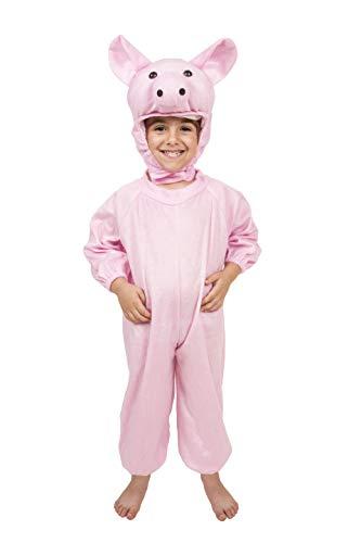 Costumizate! Disfraz de Cerdito Talla 1-3 Especial para niños Fiestas de Disfraces o Carnaval