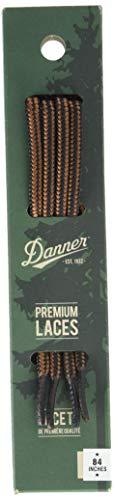 """Danner mens 84"""" Shoelaces, Black/Tan, Universal Regular US"""