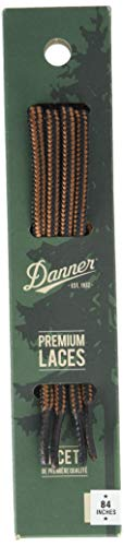 "Danner mens 84"" Shoelaces, Black/Tan, Universal Regular US"