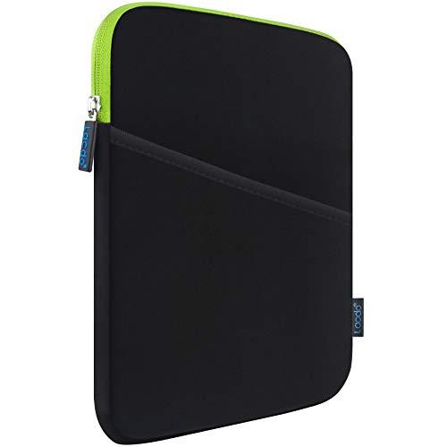 Lacdo Custodia Borsa Tablet per 9,7' New iPad, iPad Air 2, iPad 4 3 2, 10,2' New iPad, 11' New iPad PRO, 10,5' New iPad PRO, Huawei Mediapad T5 / T3 /M5 Lite 10, Lenovo M10 Plus/Yoga Smart, Verde