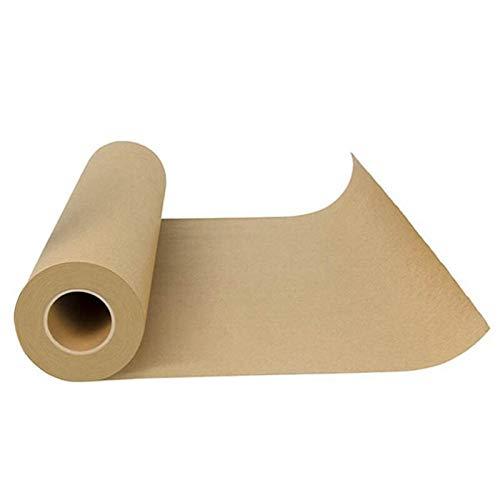 Papier d'emballage de qualité alimentaire de rouleau de papier Kraft d'boucher tout le Fda naturel approuvé pour le papier de cuisson de viandes de Bbq dans le transport Durable Tu