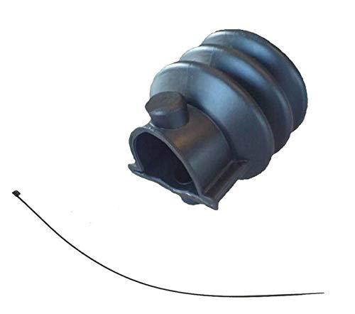 FKAnhängerteile Knott Faltenbalg Manschette für KR + KF7,5 KF13 KF17 KF20 + Kabelbinder