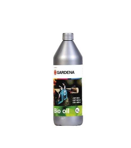 Gardena 6006-20 Kettingzaagolie voor het smeren van de motorzaag, zuiver plantaardig, biologisch afbreekbaar