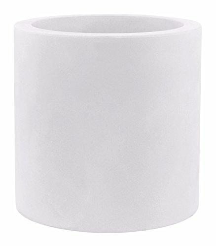 Vondom 40350 - Cilindro simple con diámetro de 50 x 50 cm, color blanco