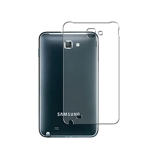 Vaxson 2 Unidades Protector de pantalla Posterior, compatible con docomo GALAXY Note SC-05D Samsung GT-N7000 [No Vidrio Templado] TPU Película Protectora Espalda Skin Cover