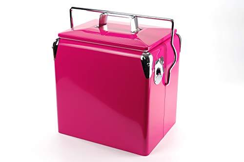 Retro-Kühlbox Daytona 13 Pink | Artikelnummer: 1021116