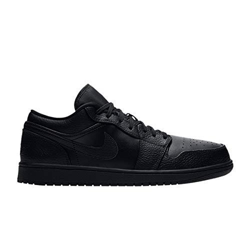 Nike Air Jordan 1 Low, Zapatillas de básquetbol Hombre, Negro, 42 EU