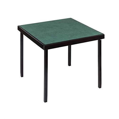 Table de Bridge Coloris Acajou 82x82 cm