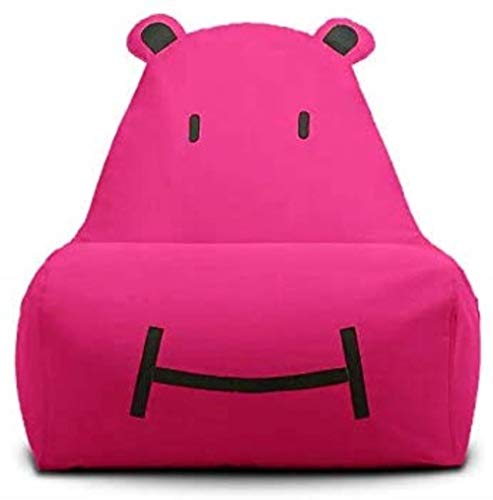 LHY- Canapé Lazy Kid Cartoon Creative Lounge Unique Mignon Tatami Chair Fabric Canapé Bean Sac Amovible et Lavable Doux (Color : Rose)