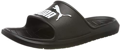 PUMA Divecat v2, Zapatos de Playa y Piscina Unisex Adulto, Black White, 39 EU