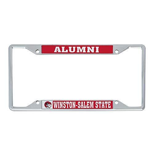 Desert Cactus Winston-Salem State University WSSU Rams Metal License Plate Frame for Front or Back of Car Officially Licensed (Alumni)