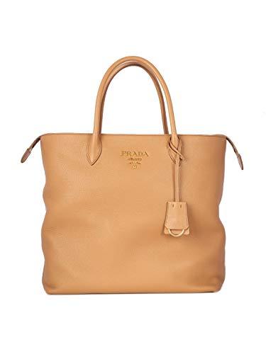 Prada Luxury Fashion Damen 1BG006VOVZ2BBEF0ZDG Braun Leder Handtaschen | Frühling Sommer 20