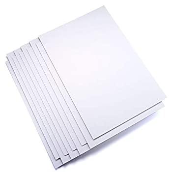 Royal and Langnickel 20 X 30  Double-Sided White Foam Board 10 Sheets