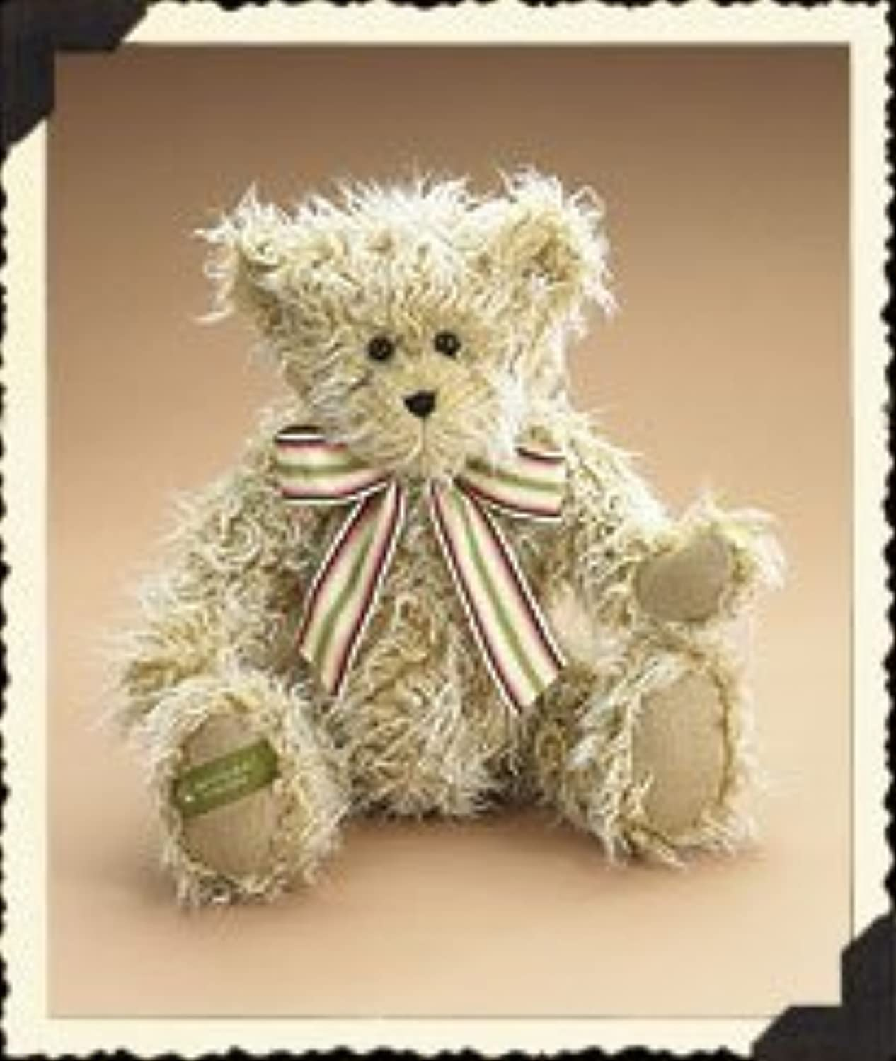 Brian Q. Fuzzworth April 2006 Bear of the Month by The Head Bean Collection