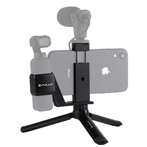 RUNNA Mini Metallo Desktop Supporto del treppiedi + Metallo Telefono Morsetto for Montaggio + Espansione Fisso Stand Staffa for DJI New Pocket