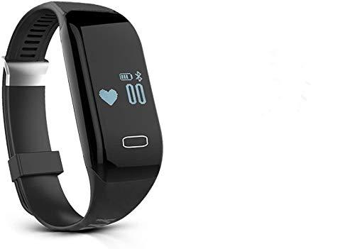 YYGIFT Bluetooth Smart Bracelet IP57 Waterproof Heart Rate Monitor Pedometer Sleep Monitor Smart Fitness Tracker Wristband Watch Best for Men and Women