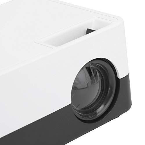 minifinker Proyector portátil de Amplia compatibilidad, por diversión, para el hogar(Transl)